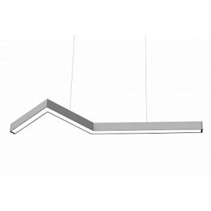 Дизайнерский светодиодный светильник LINER ZIG 40